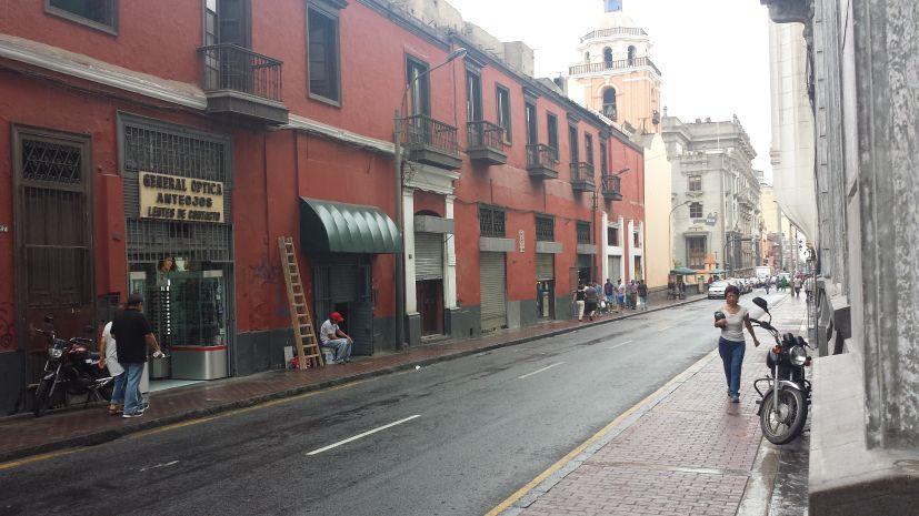 Llovizna en Lima. (Foto: @angeitamoza)