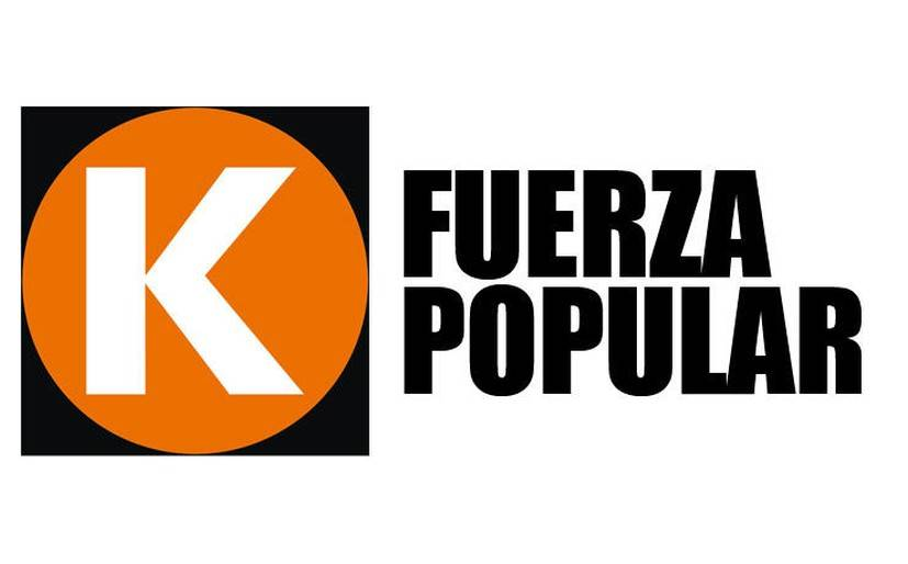 Keiko Fujimori presentó el logo de Fuerza Popular