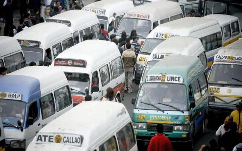 rutas habilitadas informó la gerencia de transporte urbano de lima