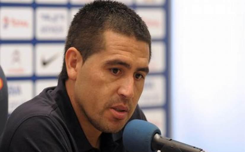 """Juan Román Riquelme elogió a Paolo Guerrero: """"Juega fenómeno"""""""