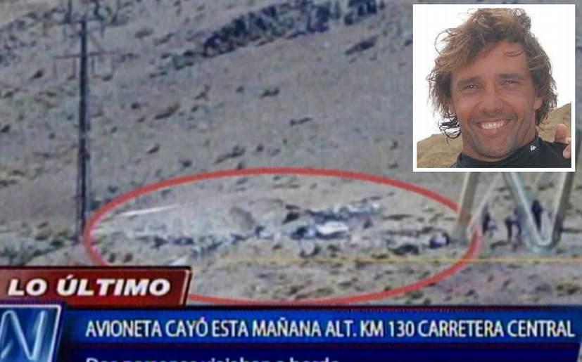 Surfista José de Col y gerente de Braedt murieron en accidente aéreo en Huarochirí