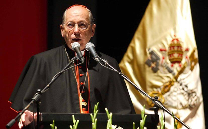 Juan Luis Cipriani critica proyecto de ley de unión homosexual