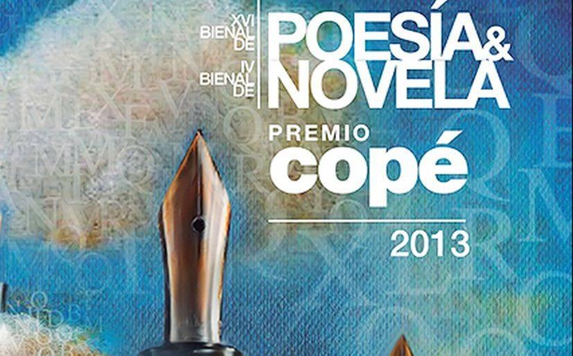 Estos son los ganadores del Premio Copé 2013 en Poesía y Novela