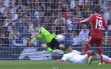 Iker Casillas y la espectacular atajada que salvó al Real Madrid