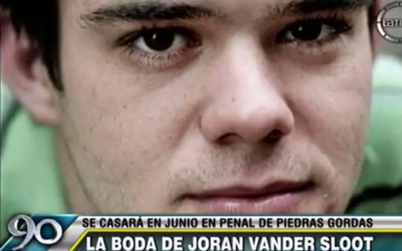 Van der Sloot se casará en junio con su novia peruana en el penal Piedras Gordas