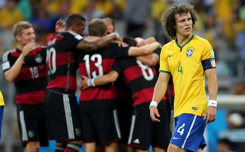 """Futbolistas de Brasil admiten que no se podrá """"borrar el 7-1"""""""