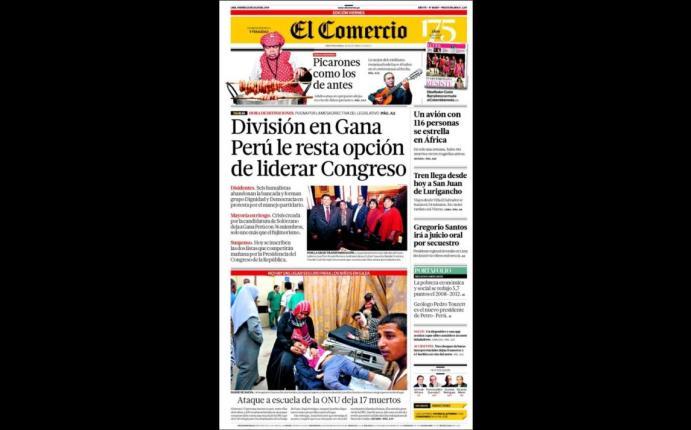 Portadas as informan hoy los principales diarios for Noticias del espectaculo internacional hoy