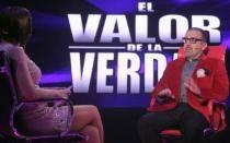 Beto Ortiz se sentó en el sillón rojo de 'El valor de la verdad'