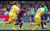 [FOTOS] Barcelona derrotó 1-0 a Villareal en un duro partido de visita