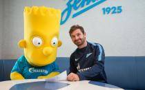[FOTOS] Bart Simpson es nuevo 'refuerzo' del Zenit de San Petersburgo