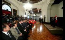 [FOTOS] Ollanta Humala rindió homenaje a medallistas en Nanjing 2014