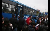 'Corredor Azul': Desconcierto y desorden en primeros días del servicio