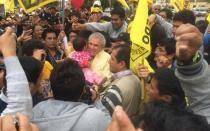 """Luis Castañeda en marcha contra tacha: """"Es injusta y arbitraria"""""""