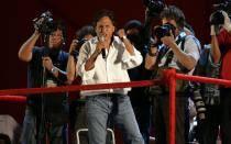 Alejandro Toledo anuncia el inicio de su campaña presidencial