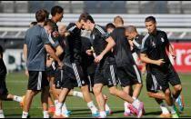 Real Madrid vs Basilea: Así entrenaron 'merengues' para su debut en Champions