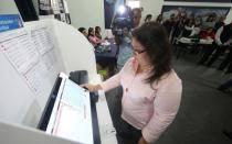 Elecciones 2014: Más 34 mil electores utilizarán el sistema de voto electrónico