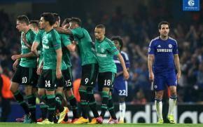 Chelsea y Schalke 04 empataron 1-1 en Londres