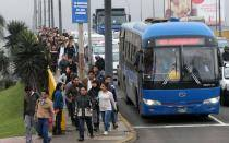 Lima continuará con reforma del transporte y espera que Callao participe