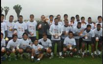 [FOTOS] Universitario se sumó a colecta pública de Liga Contra el Cáncer