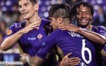 [VIDEO] Mira el gol de Juan Vargas en triunfo de Fiorentina en Europa League