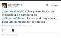 Tuiteros comentan aparición de 'Melcochita' en publicidad de Susana Villarán