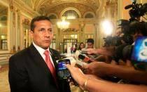 Embajadores de Israel, Bolivia, Reino Unido y Japón se presentaron ante Ollanta Humala