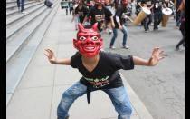 [FOTOS] La música, las danzas y el teatro tomaron la Plaza de Armas