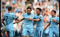 [FOTOS] Manchester City empató a Chelsea con gol de Frank Lampard a su exequipo