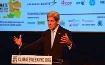 John Kerry: Cambio climático es tan peligroso como terrorismo