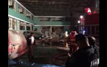 Surquillo: Explosión en sede policial alarmó a vecinos