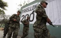 Elecciones 2014: Más de 48 mil uniformados resguardarán los centros de votación