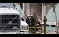 UDEX investiga causa de explosión en complejo policial en Surquillo