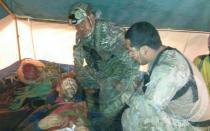 Rescatan a Cecilio López, el espeleólogo español atrapado en cueva del Amazonas