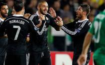 Real Madrid volteó 2-1 Ludogorets con polémico arbitraje en Champions League