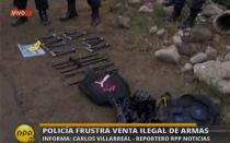 PNP frustra venta ilegal de armas en el Callao