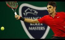 [FOTOS] Roger Federer ganó Masters de Shanghái a Gilles Simon