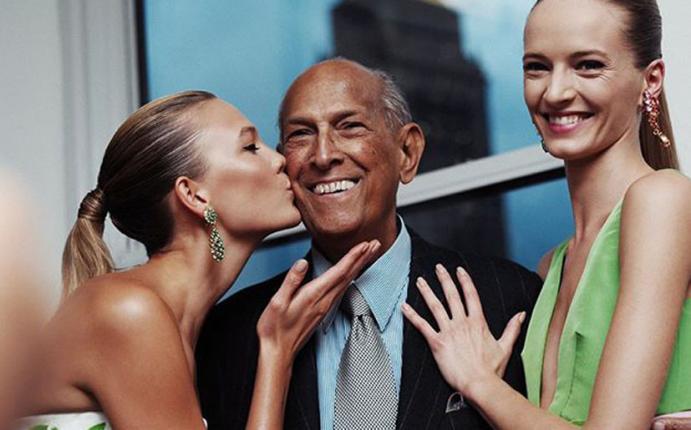 Óscar de la Renta: Así lo despidieron Hollywood y el mundo de la moda