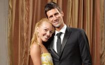 Novak Djokovic y su esposa Jelena se convirtieron en padres
