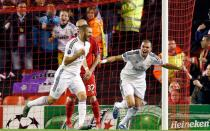 Champions League: Real Madrid goleó 3-0 al Liverpool
