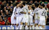 Champions League: Así celebró Real Madrid su triunfo ante Liverpool