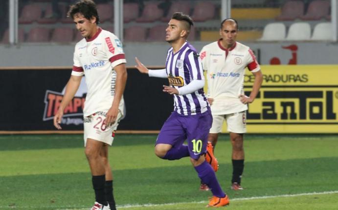 Alianza venció 1-0 a la 'U' y es nuevo líder del Clausura