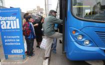Corredor Azul: Este domingo 26 comienza el cobro de pasajes