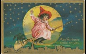 [FOTOS] 10 pintorescas estampas de Halloween de hace 100 años