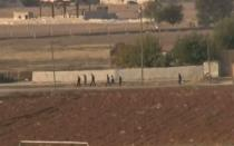 [FOTOS] Convoy con armas de los peshmergas iraquíes durante su paso por Turquía
