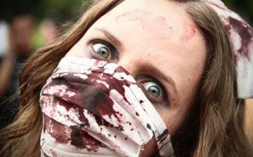 [FOTOS] Zombis invaden Sídney por Halloween