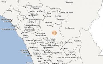 Fuerte sismo de 5,2 grados se sintió en San Martín
