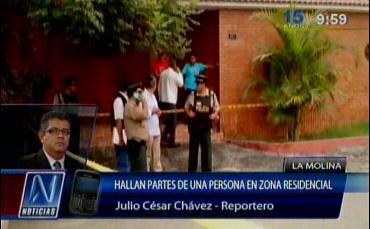 Hallan partes de un cuerpo en bolsas en La Molina | VIDEO