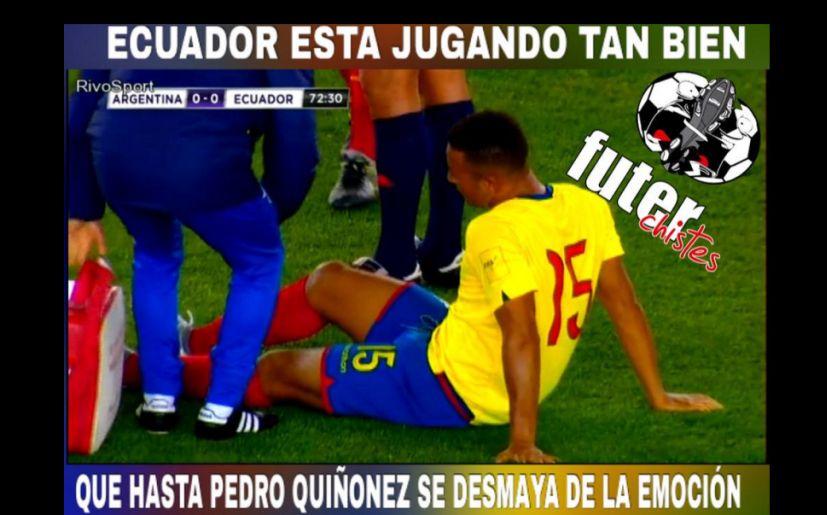 Ecuador y las bromas tras su gran victoria ante Argentina
