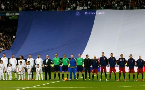Real Madrid vs Barcelona: emotivo homenaje a las víctimas de París | FOTOS