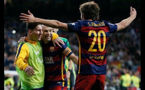 Real Madrid vs Barcelona: así vivió Leo Messi el clásico y victoria azulgrana | FOTOS